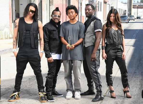 Новая фотосессия для группы The Black Eyed Peas