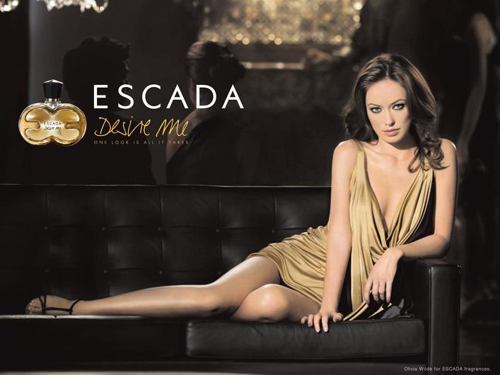 Оливия Уайлд для Escada