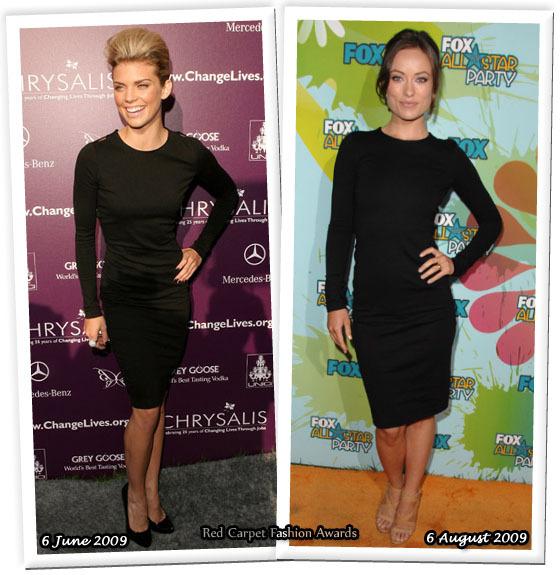 Fashion battle: Анна-Линн МакКорд и Оливия Уайлд