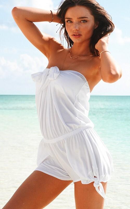 Миранда Керр в новой коллекции купальников  Victoria's Secret