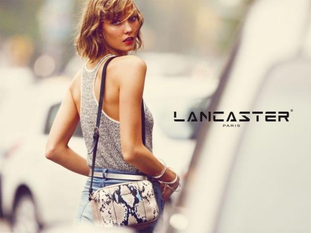 Карли Клосс в рекламной кампании Lancaster. Весна 2014