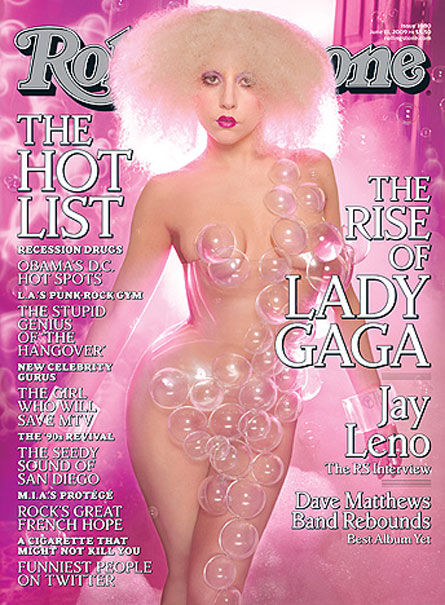 Lady GaGa на обложке Rolling Stone
