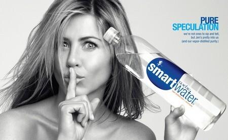 Дженнифер Энистон в рекламе питьевой воды