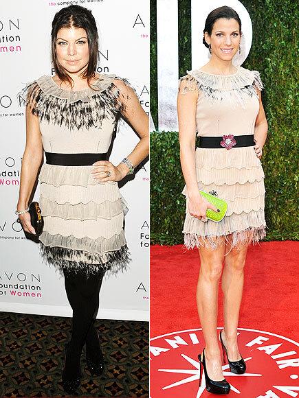 Fashion battle: Ферги и Дженнифер Сейнфилд