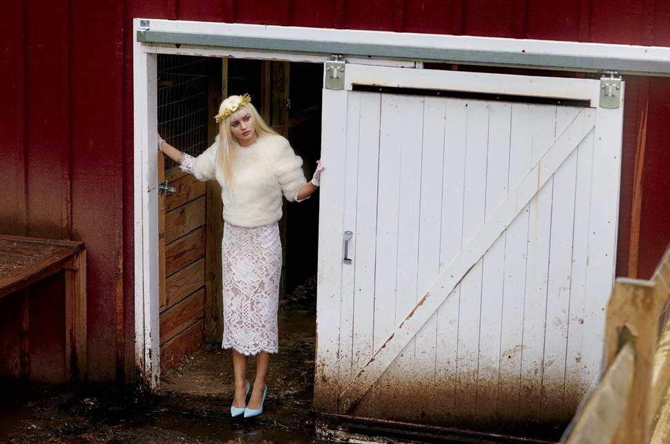Миранда Керр в журнале V. Осень 2013