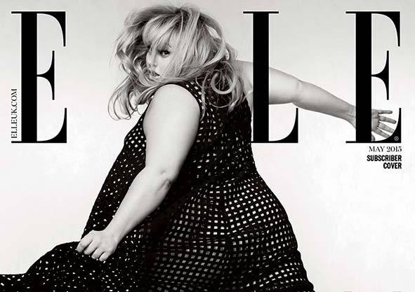 Ребел Уилсон в журнале Elle Великобритания. Май 2015