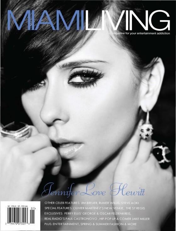 Дженнифер Лав Хьюитт в журнале Miami Living. Выпуск 35