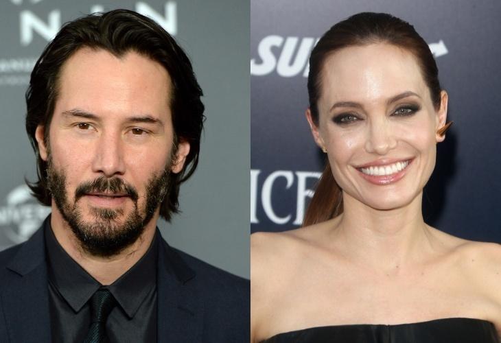 Киану Ривз может сыграть с Анджелиной Джоли в фильме «Вечные» от Marvel