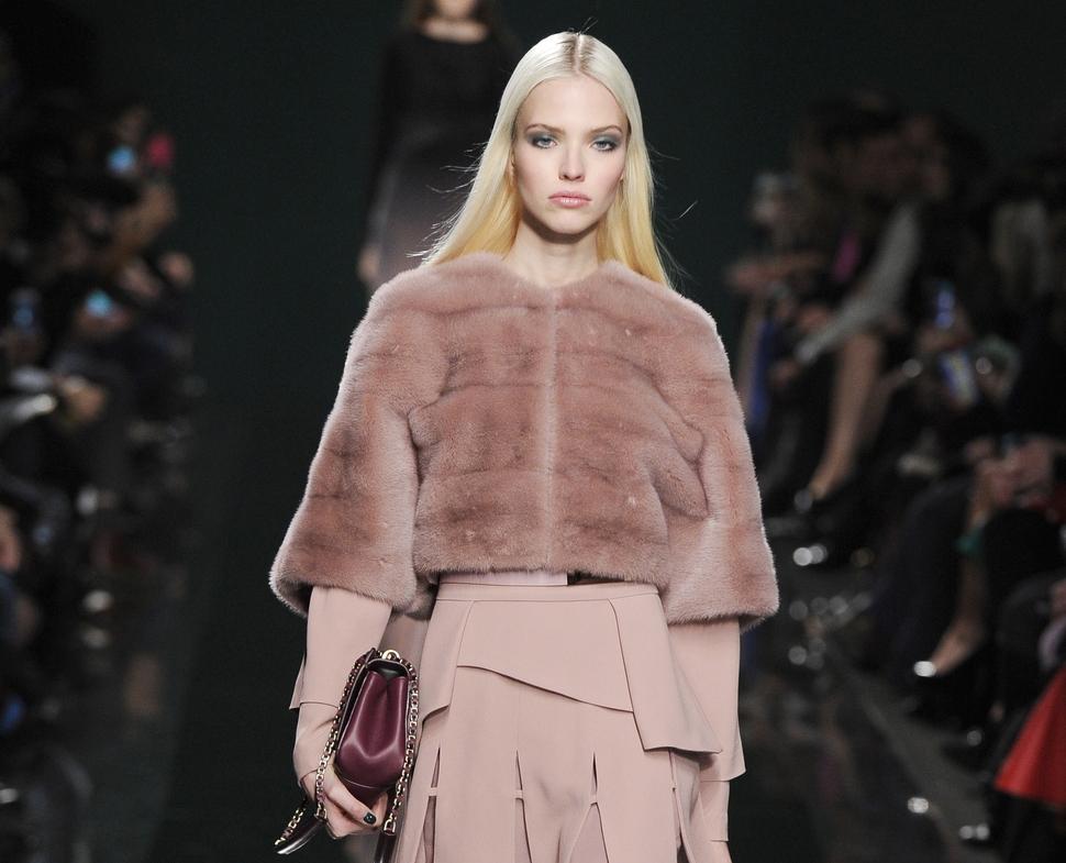 Модный показ новой коллекции Elie Saab. Осень / зима 2014