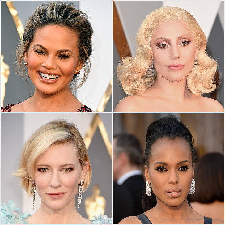 Фото: самые стильные прически и макияж звезд с красной дорожки «Оскара»-2016
