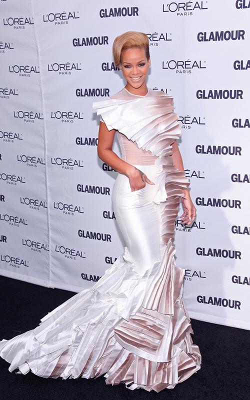 Рианна на вечере Women of The Year журнала Glamour
