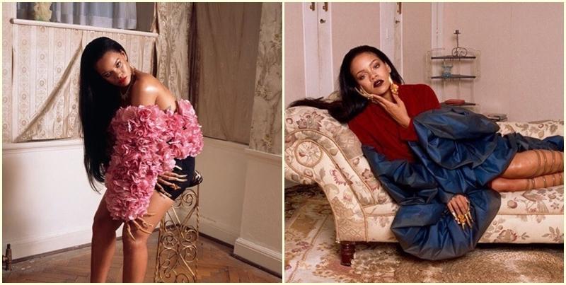 Рианна в фотосессии для нового номера журнала Garage