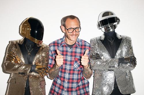Daft Punk в объективе Терри Ричардсона