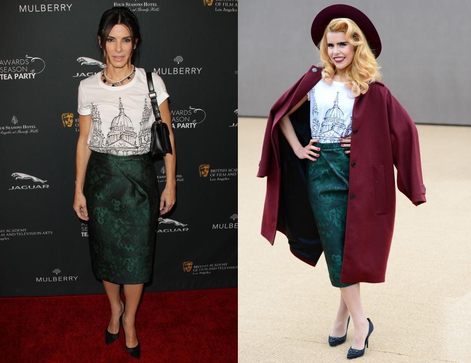 Fashion battle: Сандра Буллок и Палома Фейт