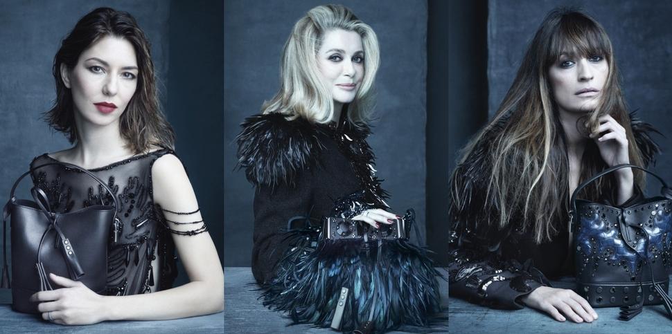 Рекламная кампания сумок Louis Vuitton. Весна 2014