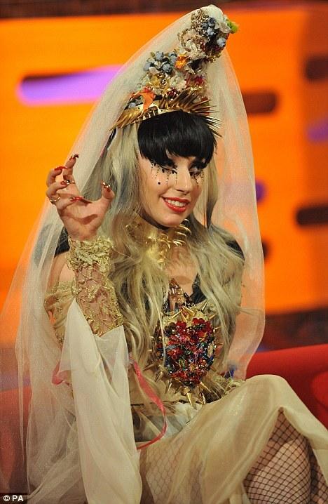 Lady GaGa на шоу Грэма Нортона