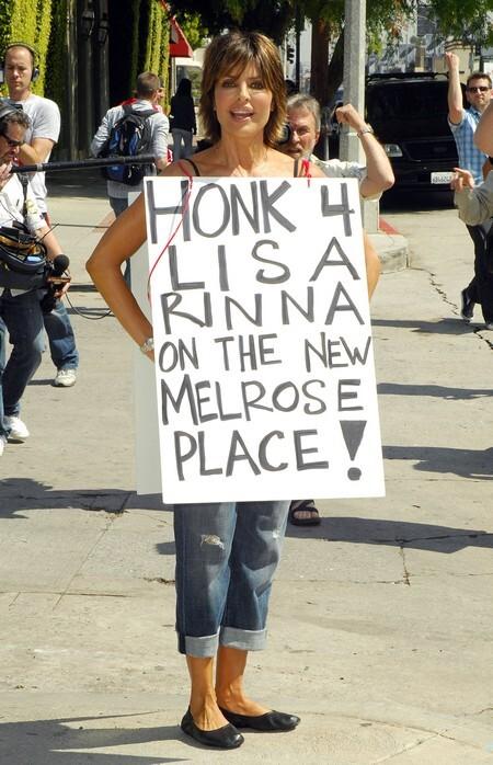 Лайза Ринна хочет попасть в Мэлроуз Плейс