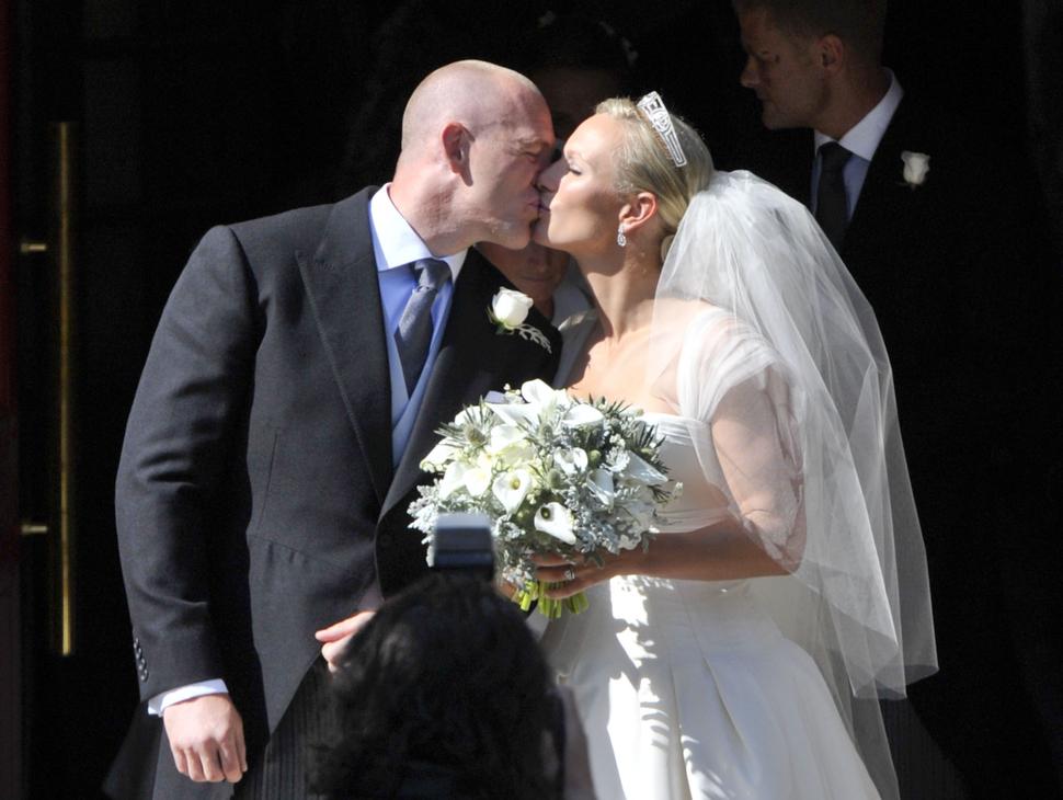 Королевская свадьба: Зара Филлипс и Майк Тиндэлл