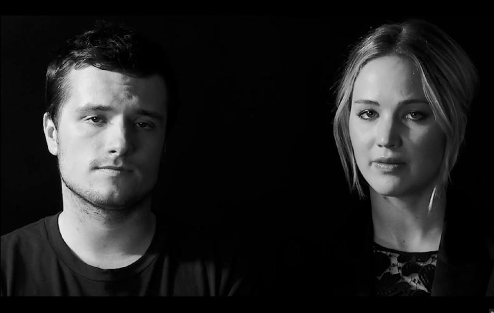 Видео: Дженнифер Лоуренс, Лиам Хемсворт и другие герои «Голодных игр» против вируса Эбола