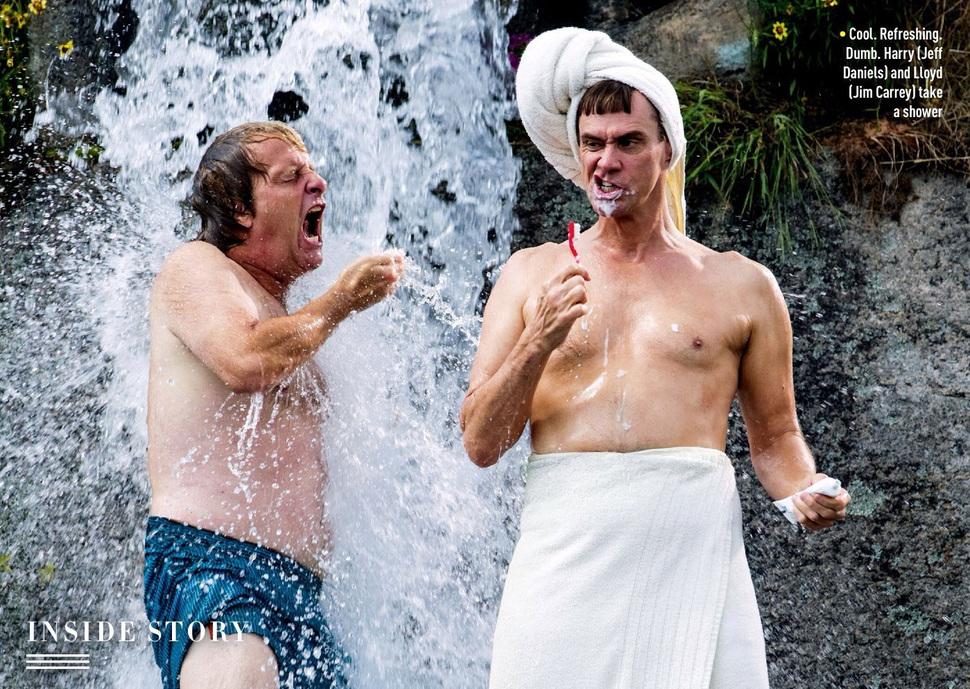Новый кадр комедии «Тупой и еще тупее 2»