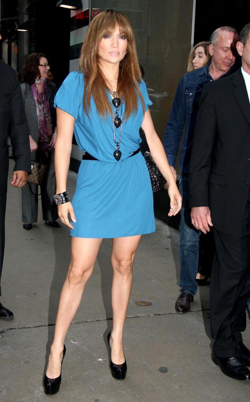 Дженнифер Лопес: новые платья, новая фигура