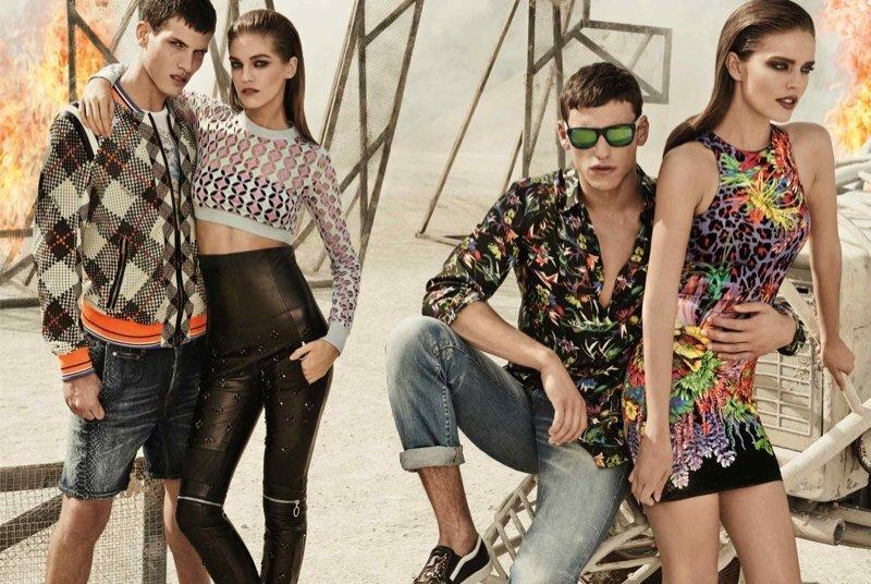 Весенне-летняя рекламная кампания Just Cavalli 2014