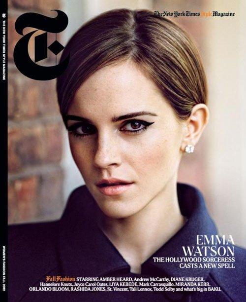 Эмма Уотсон в журнале T Style. Осень 2012