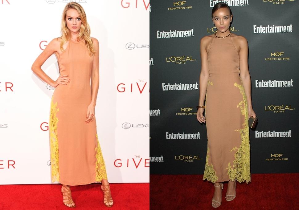 Fashion battle: Линдси Эллингсон и Эшли Мадекве