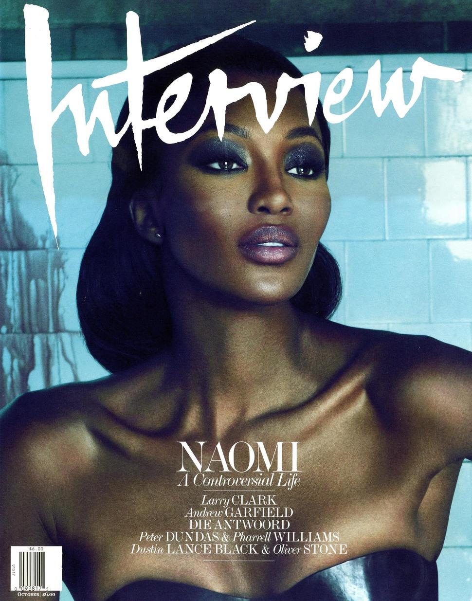 Наоми Кэмпбелл станет редактором журнала Interview