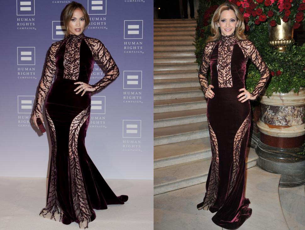 Fashion battle: Дженнифер Лопес и Улла Паркер