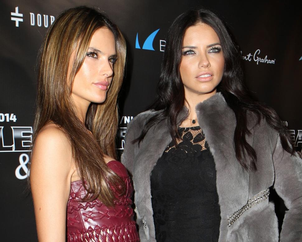 Звезды на вечеринке Leather & Laces в Нью-Йорке