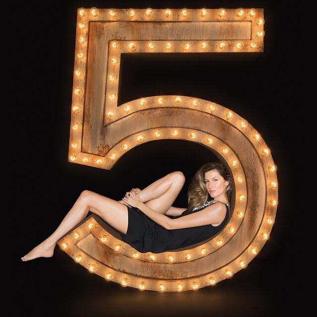 Тизер нового рекламного ролика Chanel No. 5 с Жизель Бундхен
