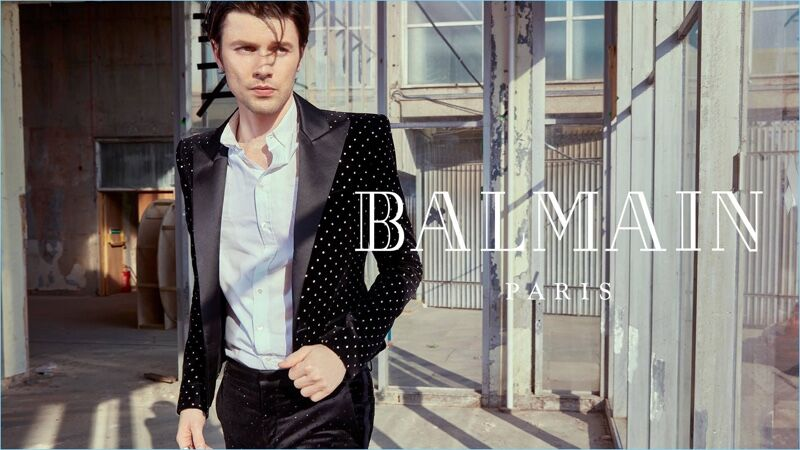 Видео: Сергей Полунин и Джеймс Бэй в новой рекламной кампании Balmain
