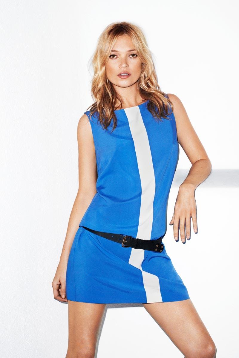 Первый взгляд на Кейт Мосс в рекламной кампании Mango. Лето 2012