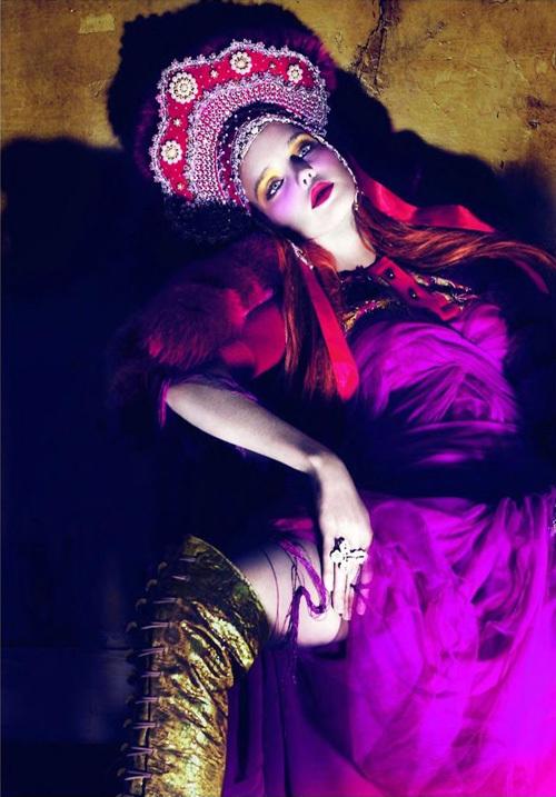 Наталья Водянова в журнале Vogue Paris. Апрель 2010