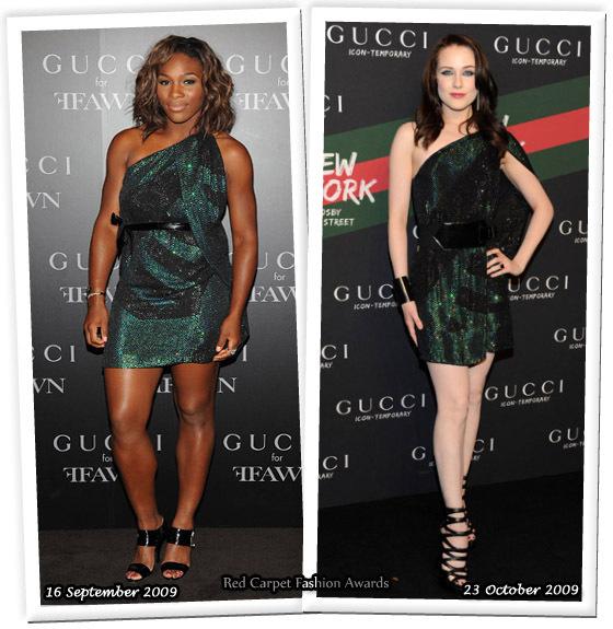 Fashion battle: Серена Уильямс и Ивен Рэйчел Вуд
