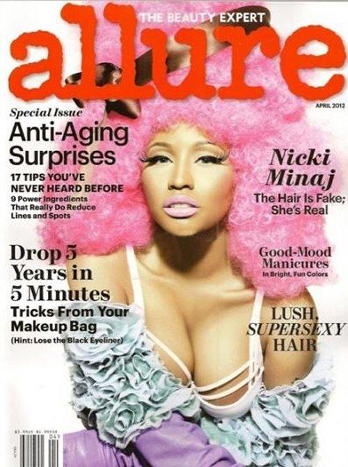 Ники Минаж в журнале Allure. Апрель 2012