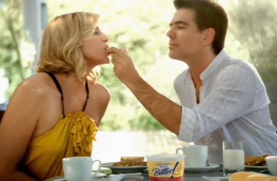 Ким Кэттролл в рекламе I Can't Believe It's Not Butter