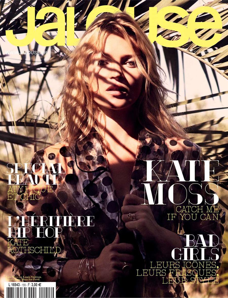 Кейт Мосс в журнале Jalouse. Ноябрь 2012