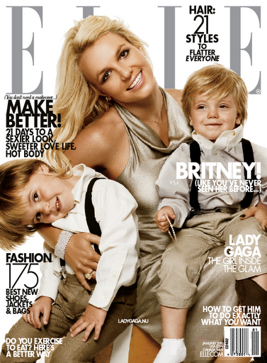 Бритни Спирс в журнале Elle. Январь 2010