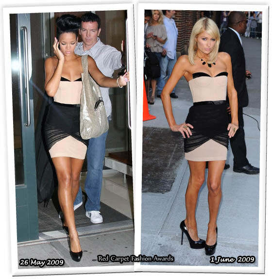Fashion battle: Рианна и Пэрис Хилтон