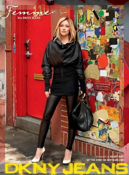 Хилари Дафф для DKNY