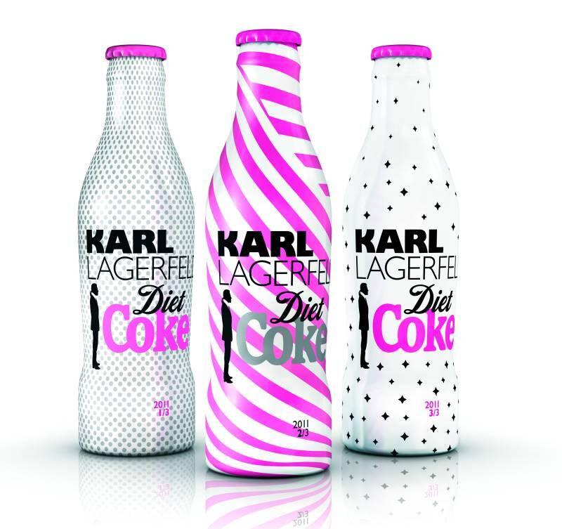 Бутылочка Diet Coke от Карла Лагерфельда