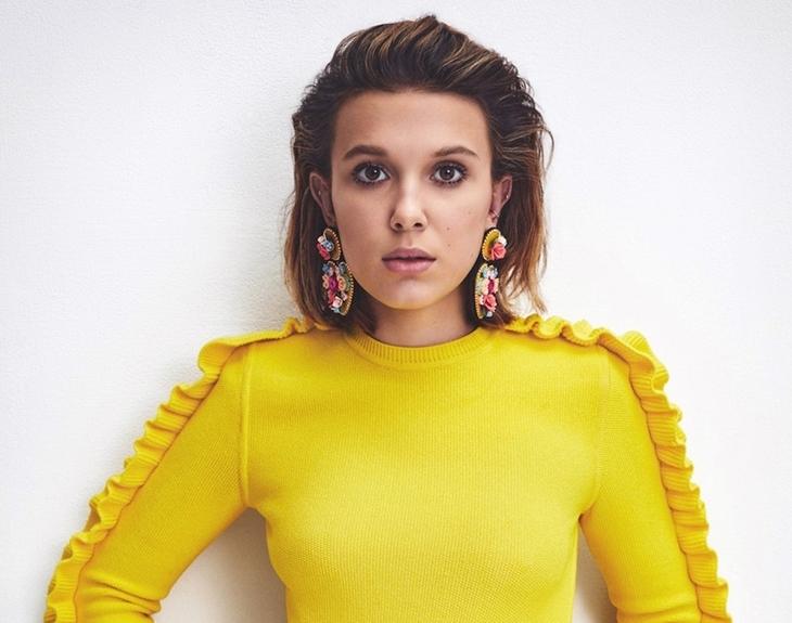 Звезда «Очень странных дел» Милли Бобби Браун в фотосессии для S Moda Magazine