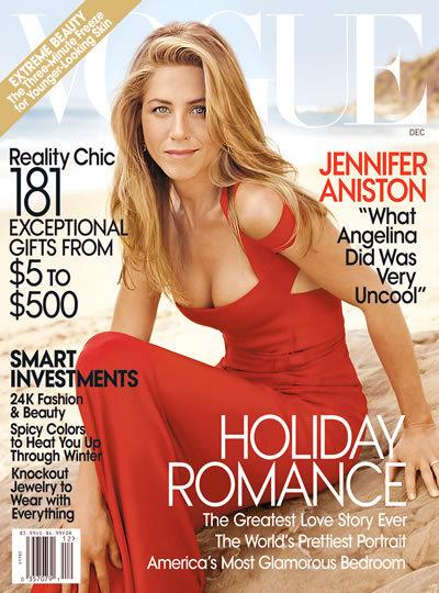 Откровенное интервью Дженнифер Энистон в Vogue