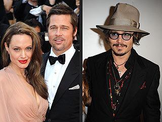 Брэд Питт, Анджелина Джоли и Джонни Депп отправятся в Канн