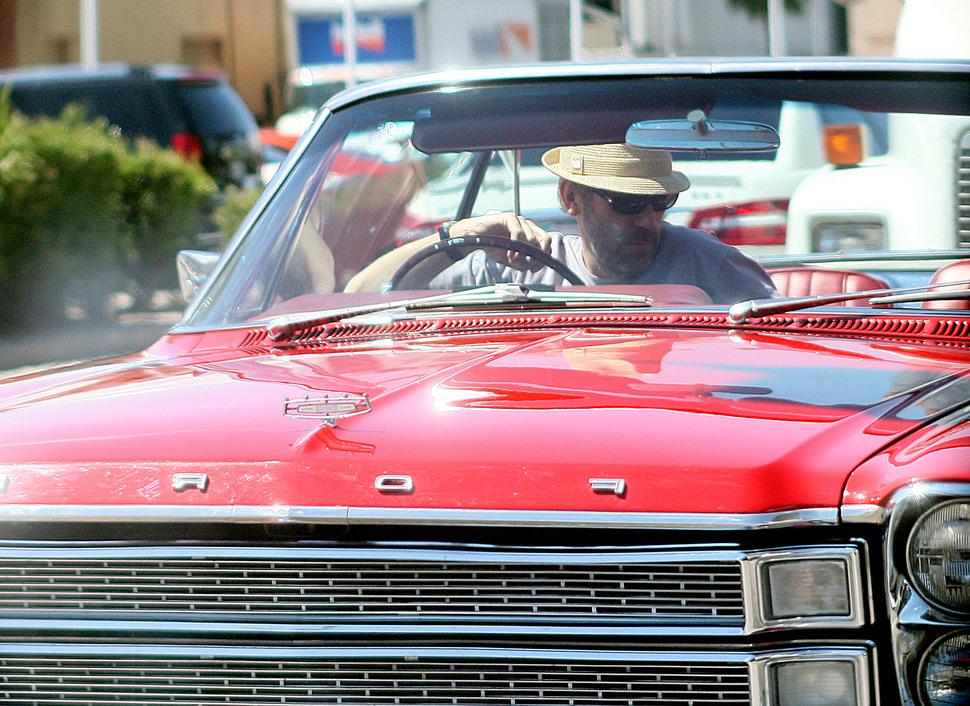 Раритетный автомобиль Хью Лори