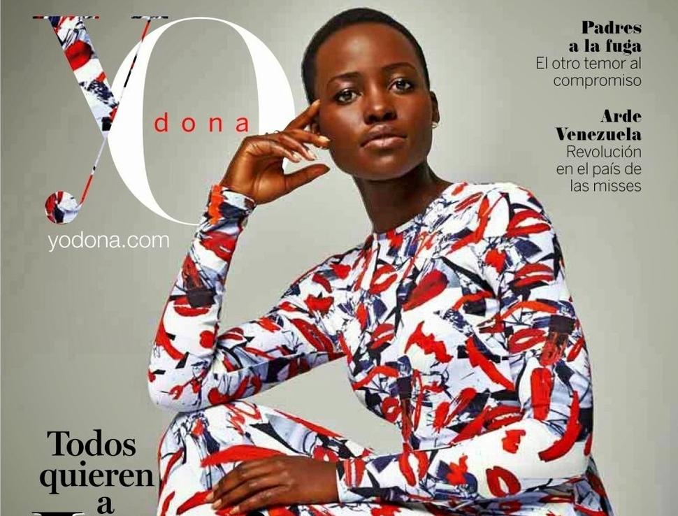 Люпита Нионго в журнале Yo Dona Испания. Март 2014