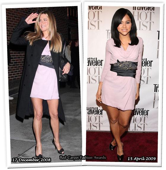 Fashion battle: Дженнифер Энистон и Кэт ДеЛуна