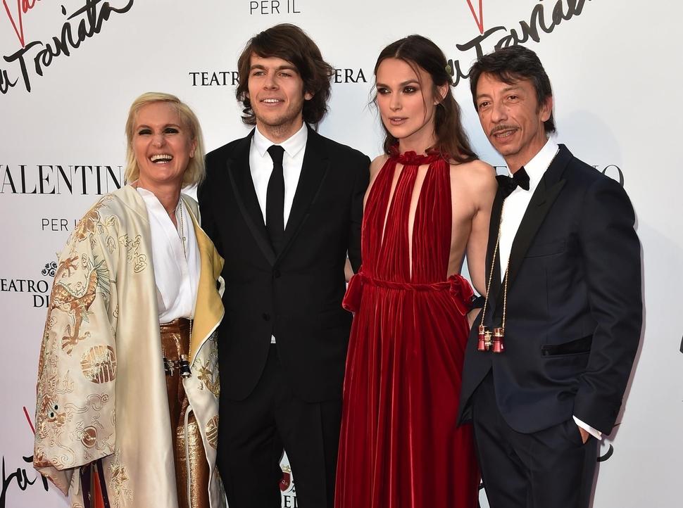 Звезды на премьере «Травиаты» в Риме